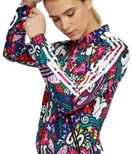 🌈☀️Rare ladies adidas SST Track jacket XS☀️🌈